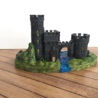 Small Castle Gate 2 3D Printing 22453