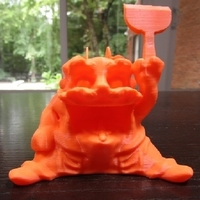 Small 3D Printing Monster Avatar 3D Printing 22493