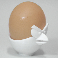 Small Angry Bird Egg Cup 3D Printing 225