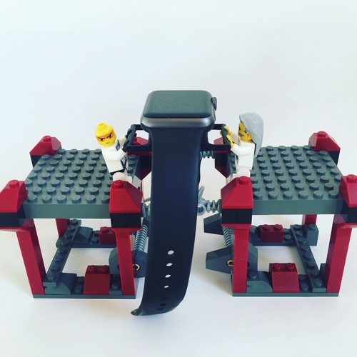 lego apple watch stand 3D Print 22538