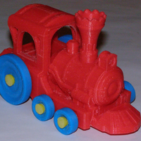 Small Toy Train 3D Printing 22582