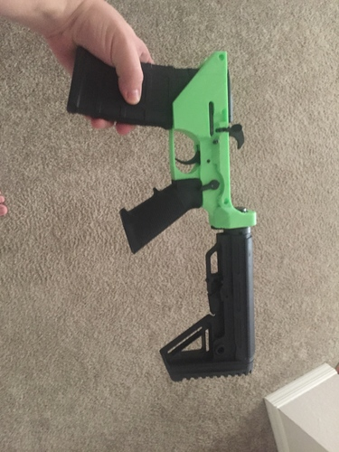 Ar-15 Lower Reciever  3D Print 22620