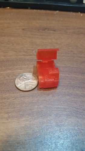Surprise Egg #1 - Tiny Haul Truck 3D Print 22654