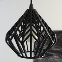 Small LUX lamp shade 3D Printing 22703