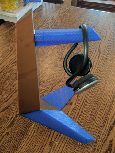 Tantō Headphone Stand 3D Print 22806