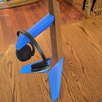 Small Tantō Headphone Stand 3D Printing 22807