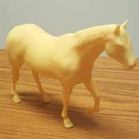 Small Walking Horse 3D Printing 22814