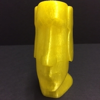Small Moai-Standard version (smooth)  3D Printing 22859