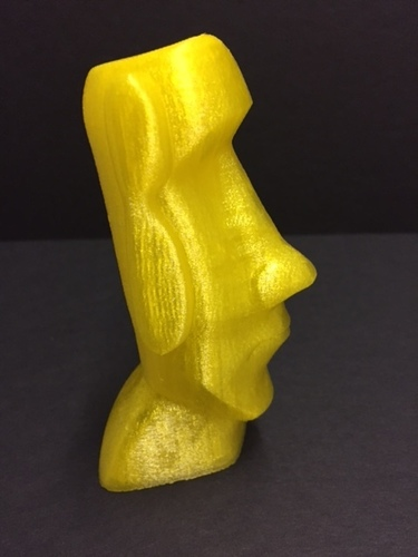 Moai-Standard version (smooth)  3D Print 22861
