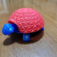 Small Squishy Turtle 3D Printing 22868