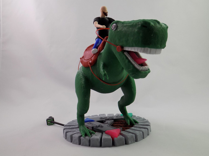 KING - My Awesome T-Rex Companion 3D Print 22884