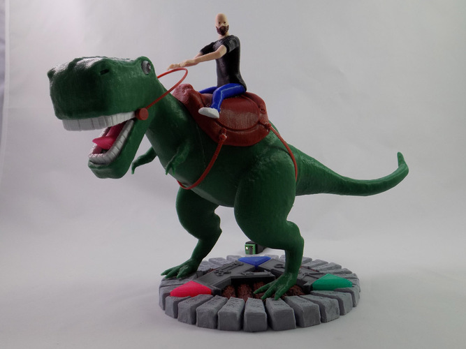KING - My Awesome T-Rex Companion 3D Print 22885