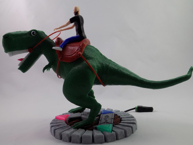 KING - My Awesome T-Rex Companion 3D Print 22886