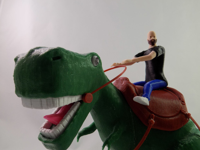 KING - My Awesome T-Rex Companion 3D Print 22887