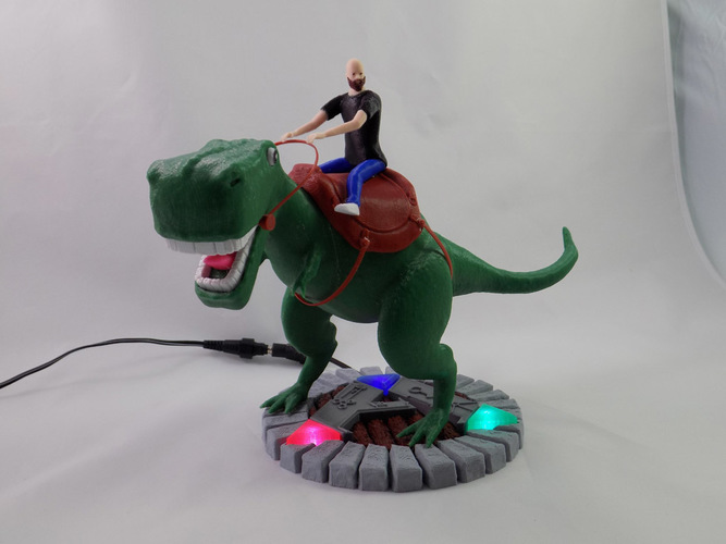 KING - My Awesome T-Rex Companion 3D Print 22892