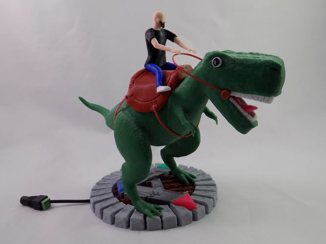 KING - My Awesome T-Rex Companion 3D Print 22894