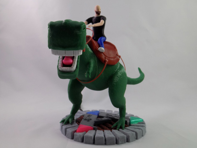 KING - My Awesome T-Rex Companion 3D Print 22895