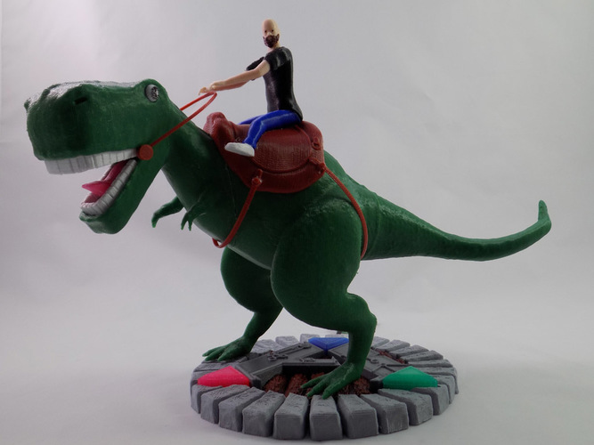 KING - My Awesome T-Rex Companion 3D Print 22896