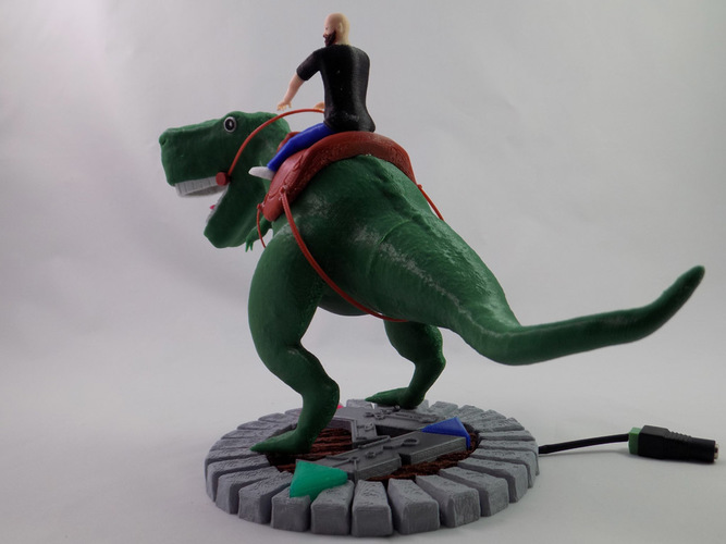 KING - My Awesome T-Rex Companion 3D Print 22897