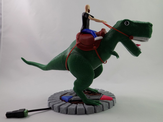 KING - My Awesome T-Rex Companion 3D Print 22899