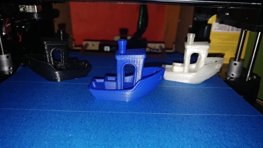 #3DBenchy - The jolly 3D printing torture-test 3D Print 23037
