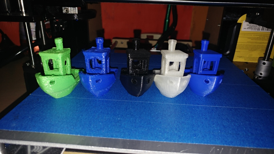 #3DBenchy - The jolly 3D printing torture-test 3D Print 23038