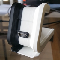 Small fitbit Surge Desktop Stand 3D Printing 23054