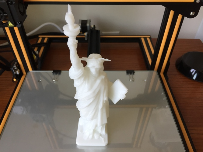 Statue of Liberty - Repaired 3D Print 23156