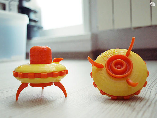 Little UFO (basic) 3D Print 23168
