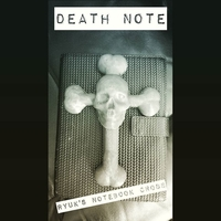 Small Ryuk's Death Notebook Cross  3D Printing 23184