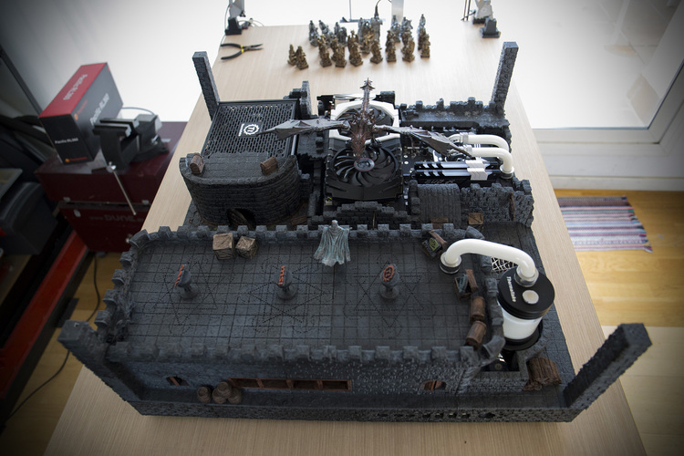 OpenForge Stone Dungeon Walls 3D Print 23338