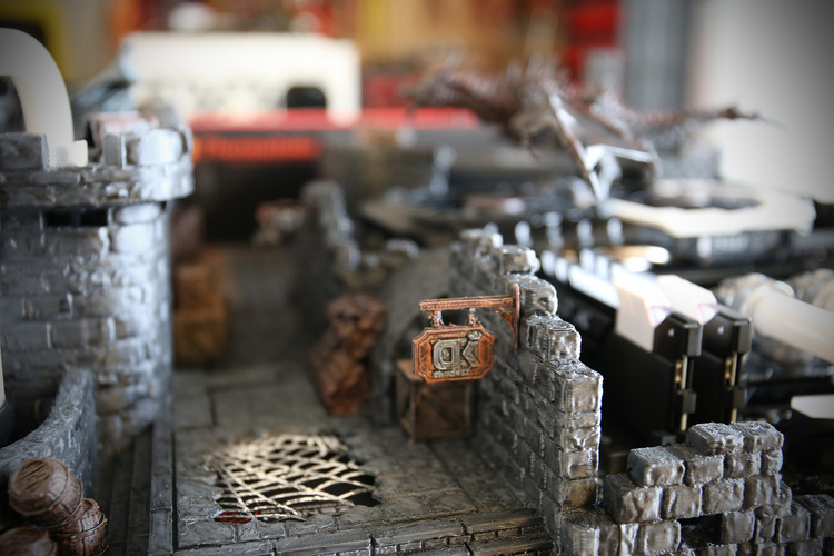 OpenForge Stone Dungeon Walls 3D Print 23339