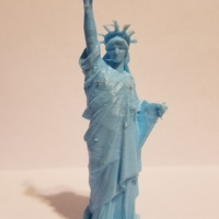 Small Statue of Liberty - Repaired 3D Printing 23375