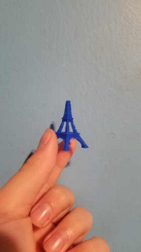 The Eiffel Tower Miniature 3D Print 23379