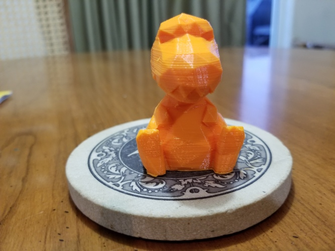 Low Poly T-rex 3D Print 23401