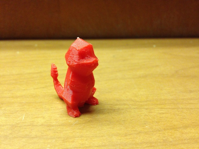 Low Poly Pokemon  3D Print 2346