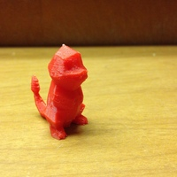 Small Low Poly Pokemon  3D Printing 2346
