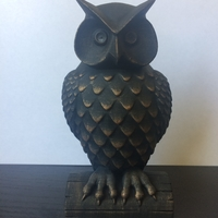 Small Owl 3D Printing 23468