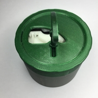 Small Lockable Container 3D Printing 23471