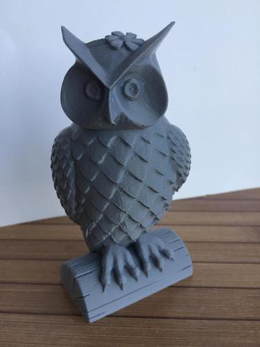 His_and_Her_Owls 3D Print 23518