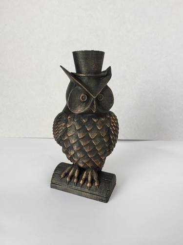 His_and_Her_Owls 3D Print 23519