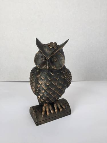 His_and_Her_Owls 3D Print 23521