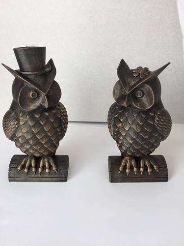 His_and_Her_Owls 3D Print 23522