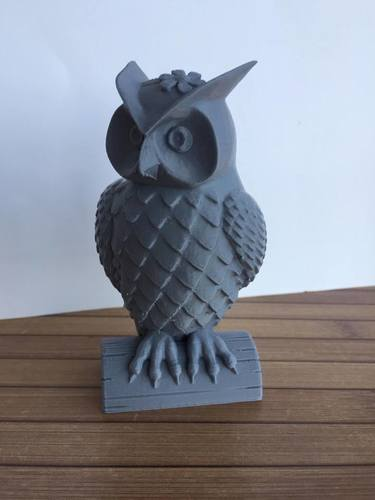 His_and_Her_Owls 3D Print 23523