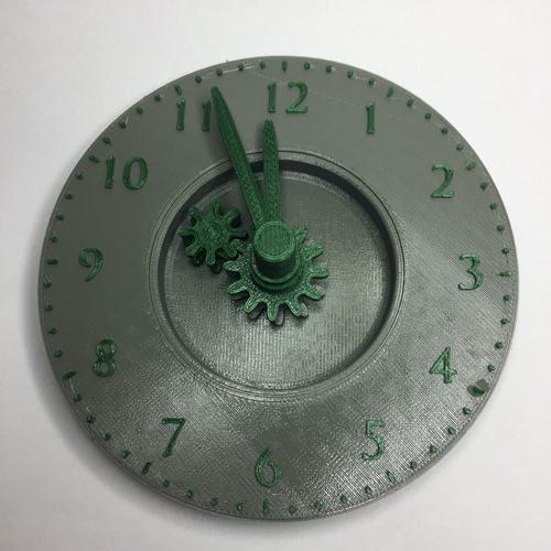 Teach a child to tell the time 3D Print 23550