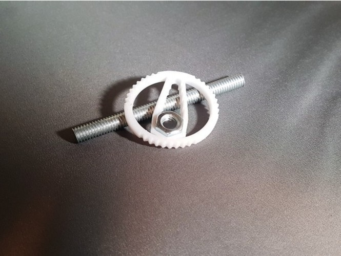 Hex Wrench Keychain 3D Print 23565