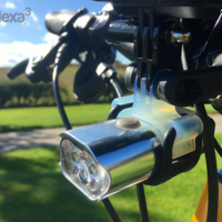 Small Go Pro Style Mount for Bike Light 3D Printing 23571