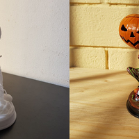 Small Pumpkin Monster 3D Printing 23583