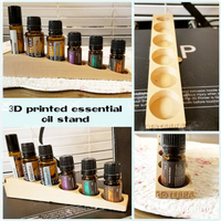 Small essential oil display 3D Printing 23596