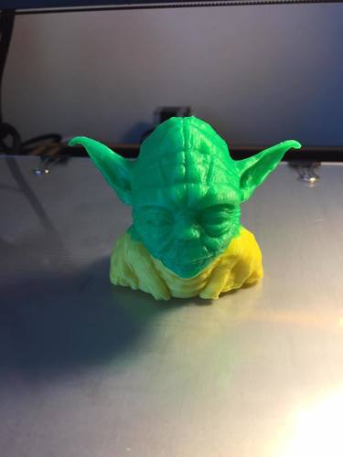 Yoda with Chin Support 3D Print 23633